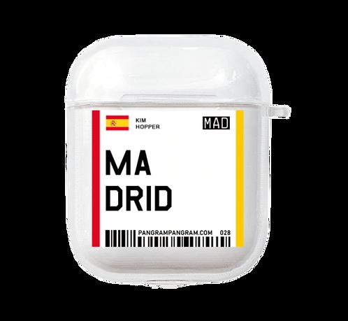 Madrid Boarding Pass