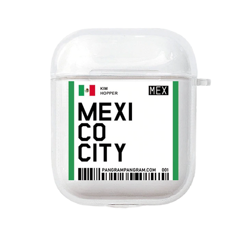 Mexico City Boarding Pass