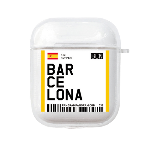 Barcelona Boarding Pass