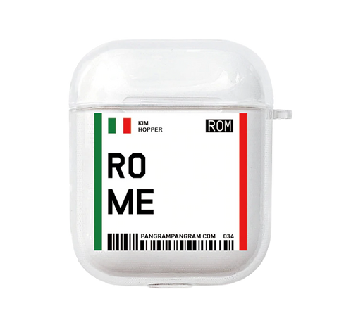 Rome Boarding Pass