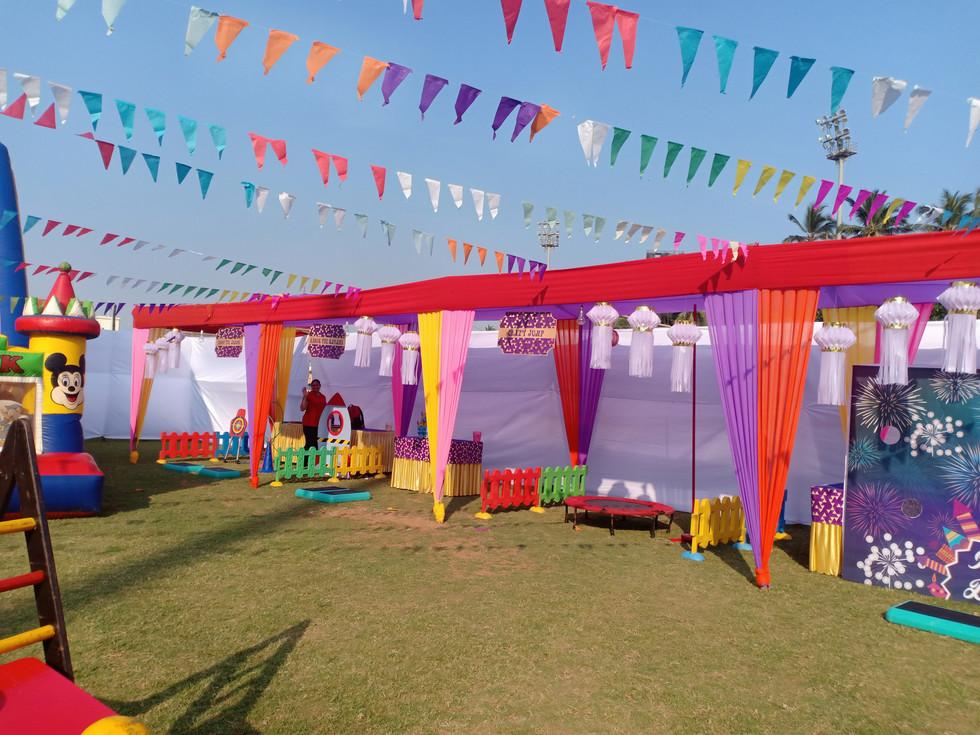 Diwali event at Bombay Gymkhana