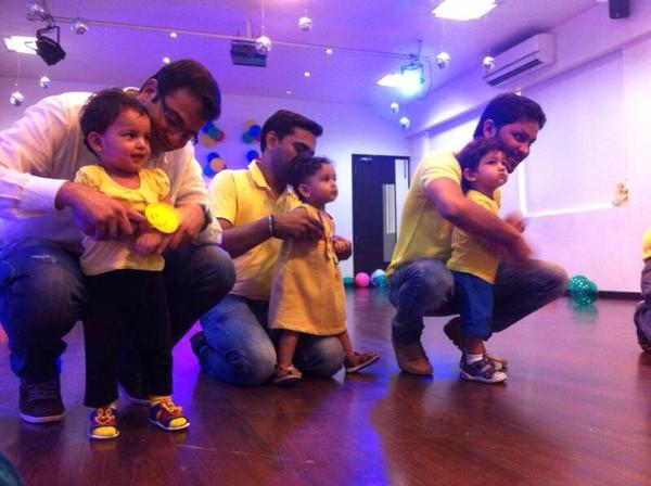 Parent Toddler dance event