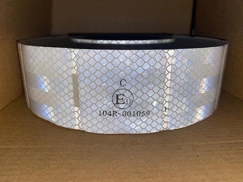 ECE104R White Segmented Conspicuity Tape
