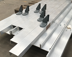 Aluminium Channel With Brackets