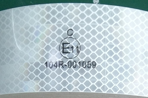 ECE104R White Rigid Conspicuity Tape