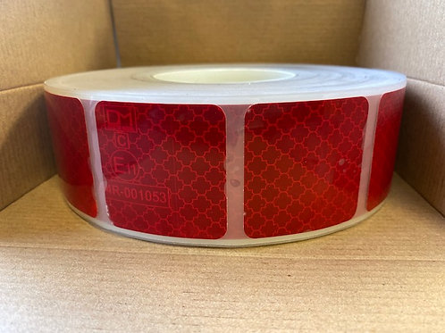 ECE104R Red Segmented Conspicuity Tape