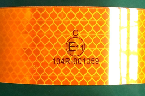 ECE104R Yellow Rigid Conspicuity Tape