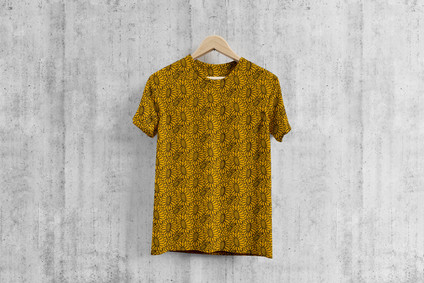 Free Round Neck Cool T-Shirt Mockup PSD