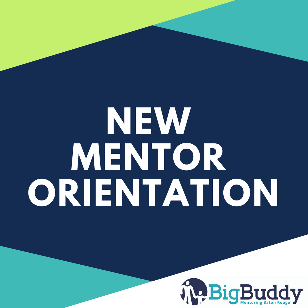 New Mentor Orientation