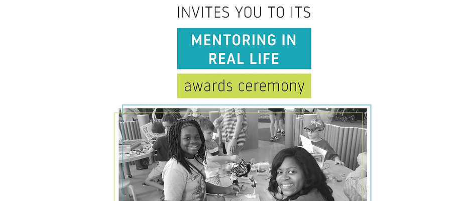 Mentoring in Real Life Awards Ceremony Table