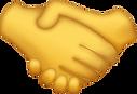 Handshake Emoji [Download iPhone Emojis]