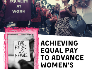 Achieving Equal Pay to Advance Women's Rights