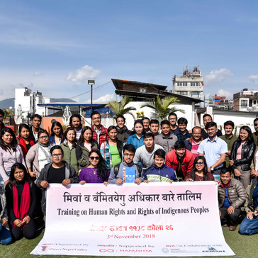 #Nepal: Training on Human Rights and Indigenous Peoples Rights