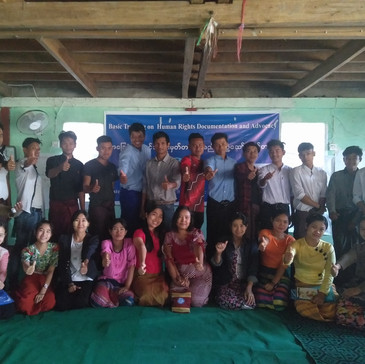 #Myanmar: Basic Training on Human Rights Documentation and Advocacy organized in Rakhine State
