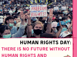 Human Rights Day: There Is No Future Without Human Rights and Freedom!
