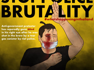 Stop Police Brutality in the name of Protecting Prayut & the Network Monarchy!