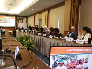 Manushya's call at the Asia regional consultation of the UNSR on the right to development
