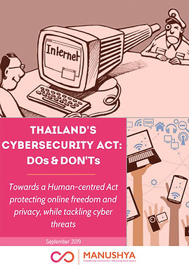 DOs & DONT's - Thailand's Cybersecurity