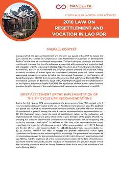 Lao UPR Factsheets - Resettlement Law.pn