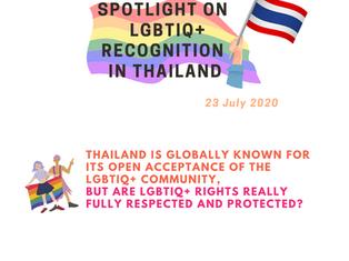 SPOTLIGHT on LGBTIQ+ Recognition in Thailand