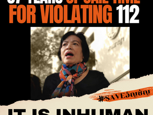 87 Years of Jail Time for Violating 112 - It Is Inhuman!