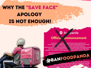Foodpanda: Why the 'Save Face' Apology is not Enough!