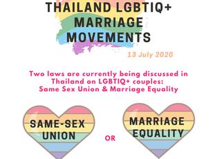 SPOTLIGHT on Thailand's LGBTIQ+ Marriage Movements