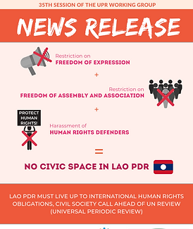 Cover News release_UPR Laos Submission_F