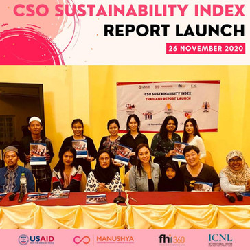 CSO Sustainability Index 2019 Report Launch - 26 November 2020
