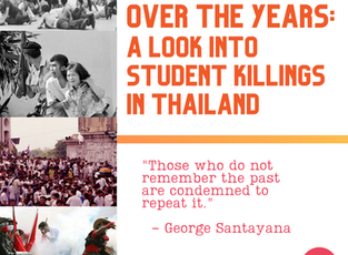 Over The Years - A Look Into Student Killings in Thailand