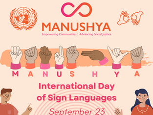 #SignLanguagesDay: Celebration of Hands that Hear ✊🏼!