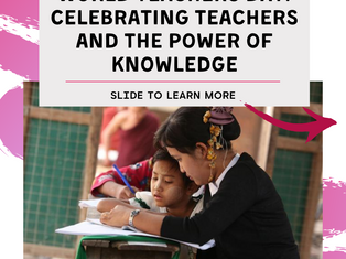 Celebrating Teachers And the Power of Knowledge!