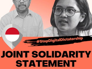 Indonesia: Stop Abusing Cyberlaw and Criminal Defamation to Silence Human Rights Defenders!