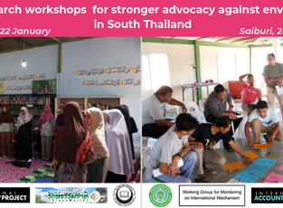 Community-Led Research workshops for stronger advocacy against environmental challenges