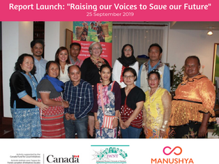 Report Launch on the Situation of Indigenous Women in Thailand
