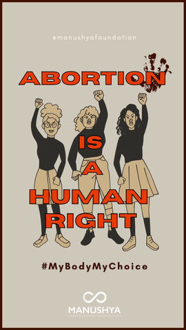 #SafeAbortionDay: Abortion is a Human Right!#MyBodyMyChoice