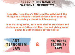 """Anti-Democratic Laws in Hong Kong & The Philippines Passed in the Name of """"National Security"""""""