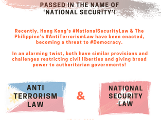"Anti-Democratic Laws in Hong Kong & The Philippines Passed in the Name of ""National Security"""