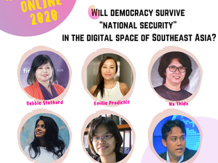 RightsCon 2020 - Will democracy survive 'national security' in the digital space of Southeast Asia?