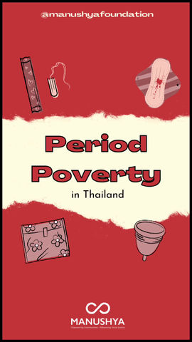 Period Poverty: Can you imagine not being able to afford sanitary products to manage your period?