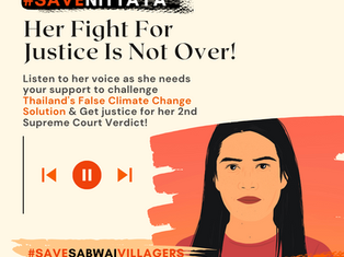 #SaveNittaya Her Fight For Justice Is Not Over!
