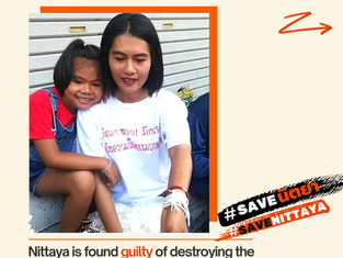 #SaveNittaya - What You Need to Know about Nittaya's Unfair Court Verdicts