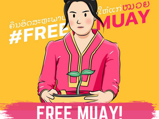 #FreeMuay, a brave Woman Human Rights Defender from Jail in Laos!