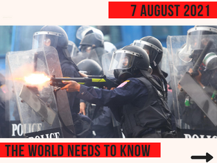 Thai Police Violence is against Human Rights Standards!