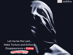 Help us push for the Torture & Enforced Disappearance Law to be passed! #ItCouldBeYou