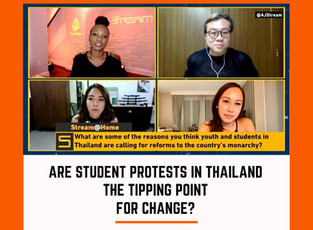 Are Student Protests in Thailand the Tipping Point for Change?