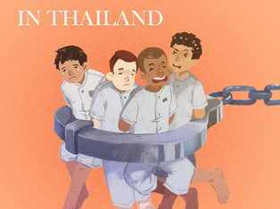 """Thai Prisons: """"Less room for a body than the inside of a coffin"""""""
