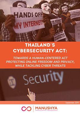 Study-ThailandCybersecurityAct-Manushya2
