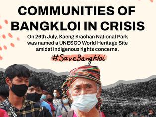 "No to the UNESCO ""World Heritage Site""! We need to #SaveBangkloi!"