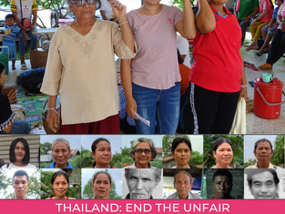 Thailand - End the Unfair Criminalisation of Land Rights Defenders in Sai Thong National Park